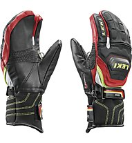 Leki Worldcup Race Flex S Junior Lobster, Black/Red/White/Yellow
