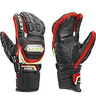 Leki Worldcup Race TI.S Lobster Speed System Skihandschuhe, Black/Red/White/Yellow