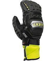 Leki Worldcup race TI S Speed System Mitt - moffole da sci - uomo, Black/Yellow