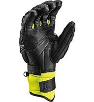 Leki Worldcup Race TI S Speed System - guanti da sci - uomo, Black/Yellow