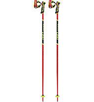 Leki Worldcup Racing TBS SL 3D - bastoncini sci alpino, Red/Black/Yellow
