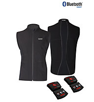 Lenz Heat Vest 1.0 Men - Gilet In Pile, Black