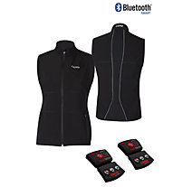 Lenz Heat Vest 1.0 Women - Gilet In Pile, Black