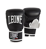 Leone Contact Bag Gloves Guanti da boxe, Black