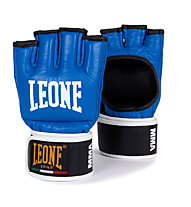 Leone MMA Guanti, Black/Light Blue