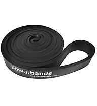 Letsbands Powerband Max Black - Gymnastikband, Black