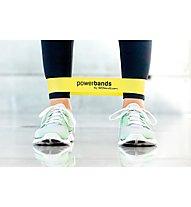 Letsbands Powerband Mini - Gymnastikband, Yellow