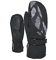 Level Venus Mitten - moffole da sci - donna, Black