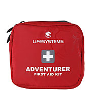 Lifesystems Adventurer First Aid Kit - kit primo soccorso, Red