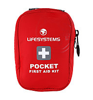 Lifesystems Pocket First Aid Kit - primo soccorso, Red