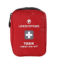 Lifesystems Trek First Aid Kit - primo soccorso, Red