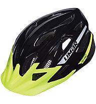 Limar 545 Glossy - casco bici MTB, Black/Yellow