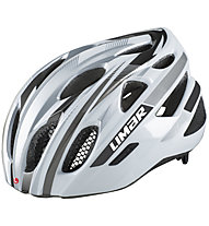 Limar 555 Road - casco bici da corsa, White/Grey