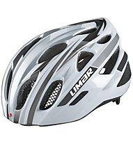 Limar 555 Road - casco bici da corsa, White/Silver/Titanium