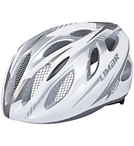 Limar Casco bici da corsa 660 Superlight, White/Silver