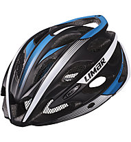 Limar Ultralight+ Road Rennradhelm, Matt Black/White/Blue