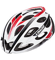 Limar Ultralight+ Matt, White/Black/Red