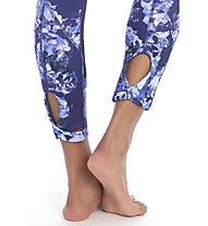 Lolë Eliana Crop - Leggings Yoga - Damen, Light Blue/Blue