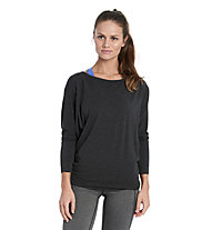 Lolë Elisa - Langarmshirt Training und Yoga - Damen, Black