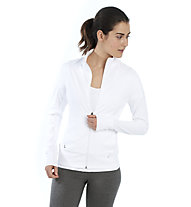 Lolë Essential Up Cardigan - Trainingsjacke - Damen, White