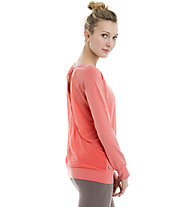 Lolë Orchid - Maglia a manica lunga yoga - donna, Light Red