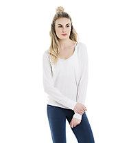 Lolë Orchid Top Yoga Shirt Longsleeve Damen, White