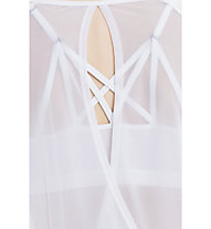 Lolë Orchid Top Yoga maglietta manica lunga donna, White