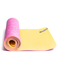 Lolë Pose Yoga Matte, Yellow/Pink