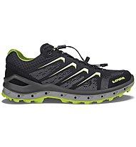 Lowa Aerox GTX Low - scarpe da trekking - uomo, Black
