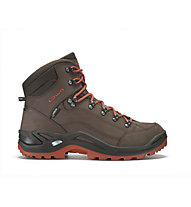Lowa Renegade GORE-TEX Mid Scarpe trekking uomo, Espresso/Rust