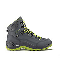 Lowa Renegade GORE-TEX Mid Scarpe trekking uomo, Asphalt/Green