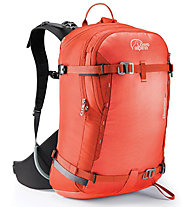 Lowe Alpine Descent 25 - zaino scialpinismo, Red