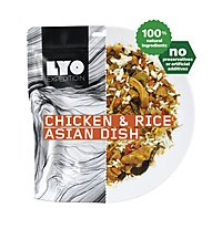 Lyo Food Chicken & Rice Asian Dish, Main meal