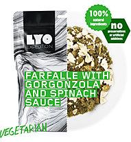 Lyo Food Farfalle mit Gorgonzola und Spinatsauce - Ernährung, Main meal