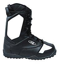 Maffia Soft Boot - Scarponi Snowboard All Mountain, Black