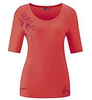 Maier Sports Irmi - Damen-T-Shirt, Pink/Red