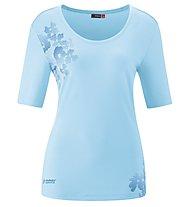 Maier Sports Irmi - Damen-T-Shirt, Light Blue/Blue