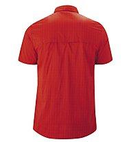 Maier Sports Mats - camicia maniche corte trekking - uomo, Red
