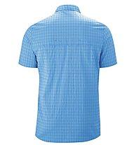 Maier Sports Mats - camicia maniche corte trekking - uomo, Blue