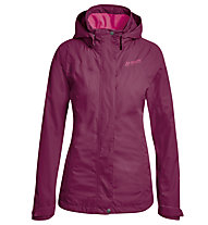 Maier Sports Metor - giacca hardshell con cappuccio - donna, Pink