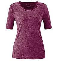 Maier Sports Myrdal - T-shirt trekking - donna, Red