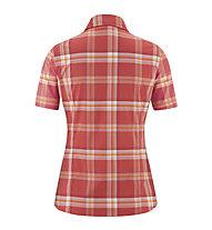 Maier Sports Sana - Damen-Kurzarmhemd, Red
