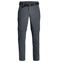 Maier Sports Torid Slim Zip - Zip-Off-Herren-Trekkinghose, Grey