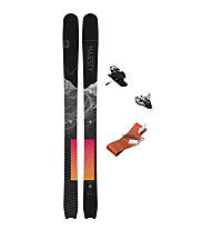 Majesty Set Supernova Carbon: sci da scialpinismo/freeride+attacco+pelli