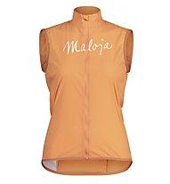 Maloja AdlerfarnM. Vest - gilet - donna, Orange