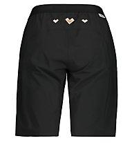 Maloja AnemonaM - pantaloncini bici - donna, Black