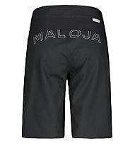 Maloja AzaleaM - pantaloni bici - donna, Black