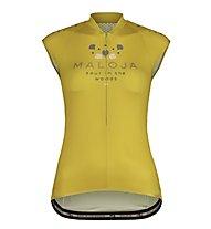 Maloja RubinieM - top bici - donna, Yellow
