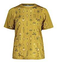 Maloja RubinieM AOP Multi 1/2 - maglia bici - donna, Yellow