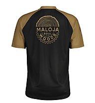 Maloja StachelbeereM - maglia bici - uomo, Black